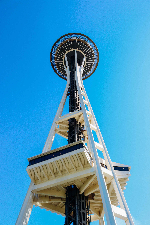 Canva - Space Needle, Seattle, Washington, Landmark, City